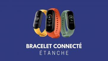 Bracelet connecté étanche