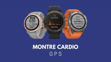 Montre cardio GPS