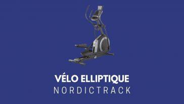 Vélo elliptique Nordictrack