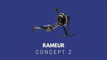 Rameur Concept 2